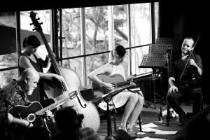 Guitar Class Image - Brisbane Jazz Club - by David Collins